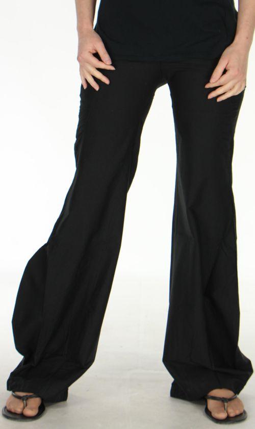 pantalon pour femme d ete chic et style leopold noir. Black Bedroom Furniture Sets. Home Design Ideas