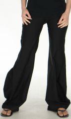 Pantalon pour Femme d'été Chic et Stylé Léopold Noir 278113