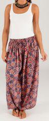 Pantalon pour Femme d'été Ethnique et Original Romain 276773