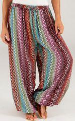 Pantalon pour Femme d'�t� Ethnique et Original S�raphin 276775