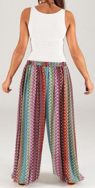 Pantalon pour Femme d'été Ethnique et Original Séraphin 276777