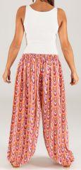 Pantalon pour Femme d'été Ethnique et Original Toussaint 276780