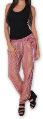 Pantalon pour Femme Ethnique et Original Hally Rose 276501