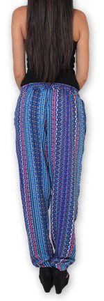 Pantalon pour Femme Ethnique et Original Hally Violet 276515