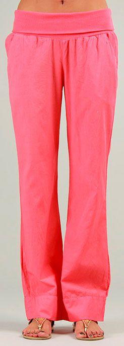 Pantalon pour Femme Original et Coloré Cassi Corail 276986