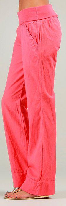 Pantalon pour Femme Original et Coloré Cassi Corail 276988