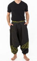 Pantalon sarouel pour homme au look ethnique tendance Minoma 305526