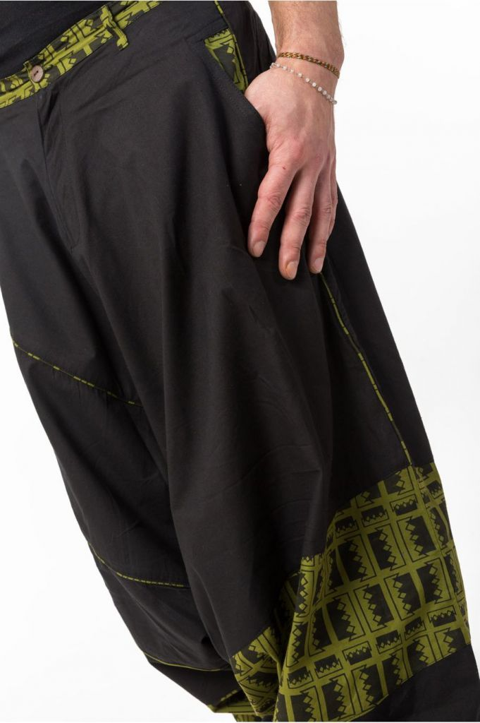 Pantalon sarouel pour homme au look ethnique tendance Minoma 305529