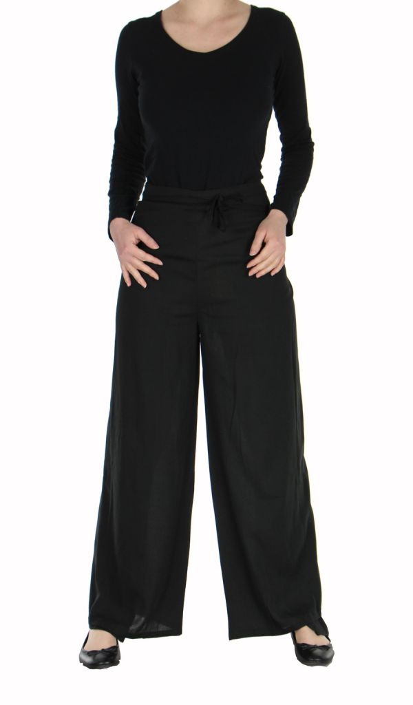 Pantalon thai portefeuille noir 268947