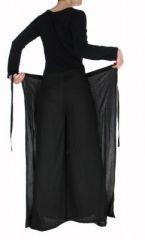 Pantalon thai portefeuille noir 268948