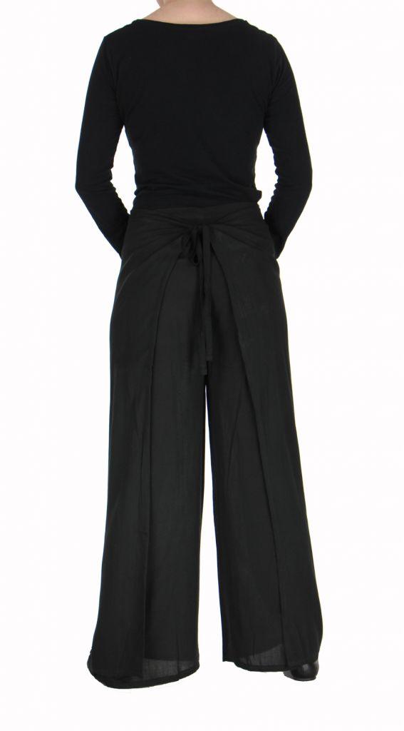 Pantalon thai portefeuille noir 268949