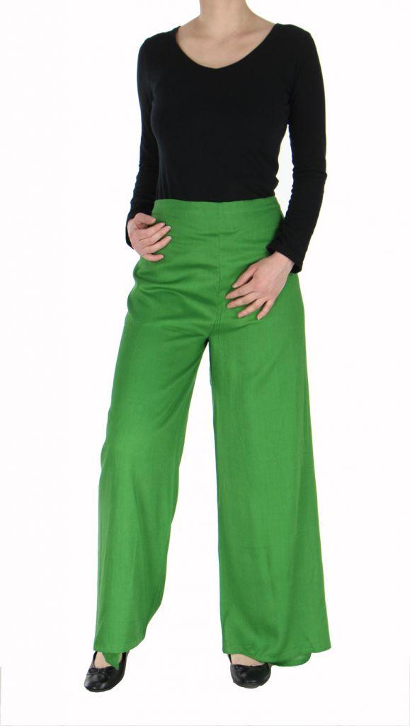 Pantalon thai portefeuille vert 268956