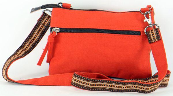 Pochette en Coton pour Femme Macha Originale et Colorée Sensa Marron 277683