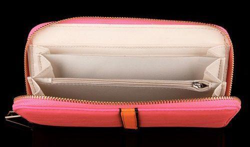 Porte-monnaie fluo rose 254798