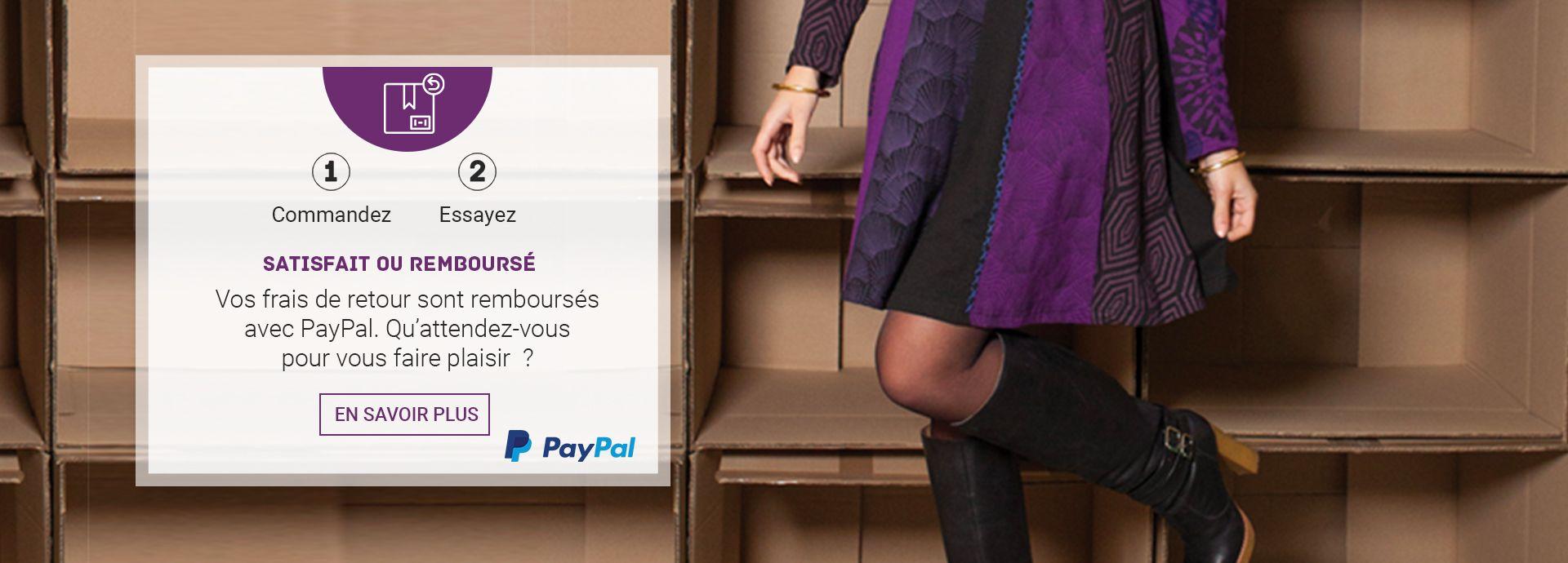 retour gratuit avec Paypal Akoustik