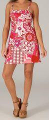Robe à bretelles réglables Colorée et Fantaisie Vika Rose 279413