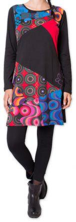 Robe à manches longues Ethnique et Colorée Helbe 275679