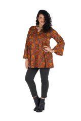 Robe à poche imprimée Cellule Nirmal 301671