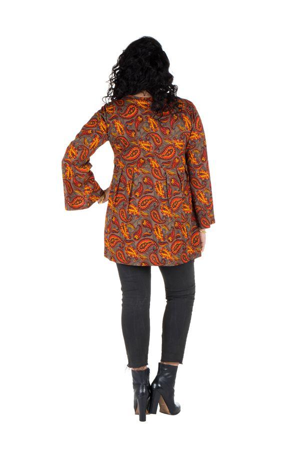 Robe à poche imprimée Cellule Nirmal 301673