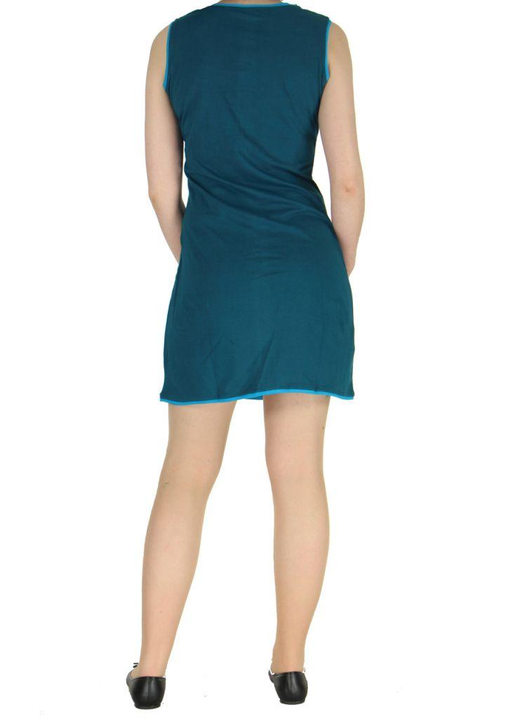 Robe bleue avec spirales Wanna 268544