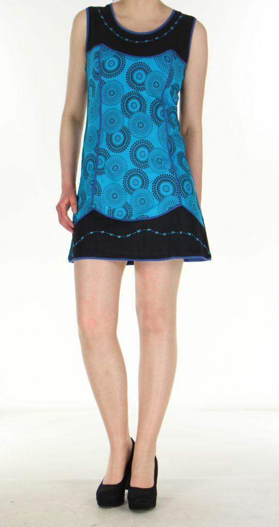 Robe bleue pour femme Ambre 269930