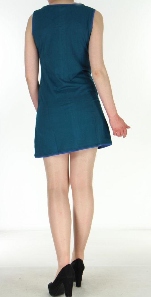 Robe bleue pour femme Ambre 269931