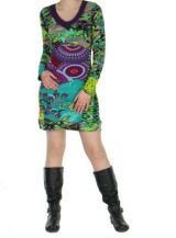 Robe color�e moulante Nayssa 267365