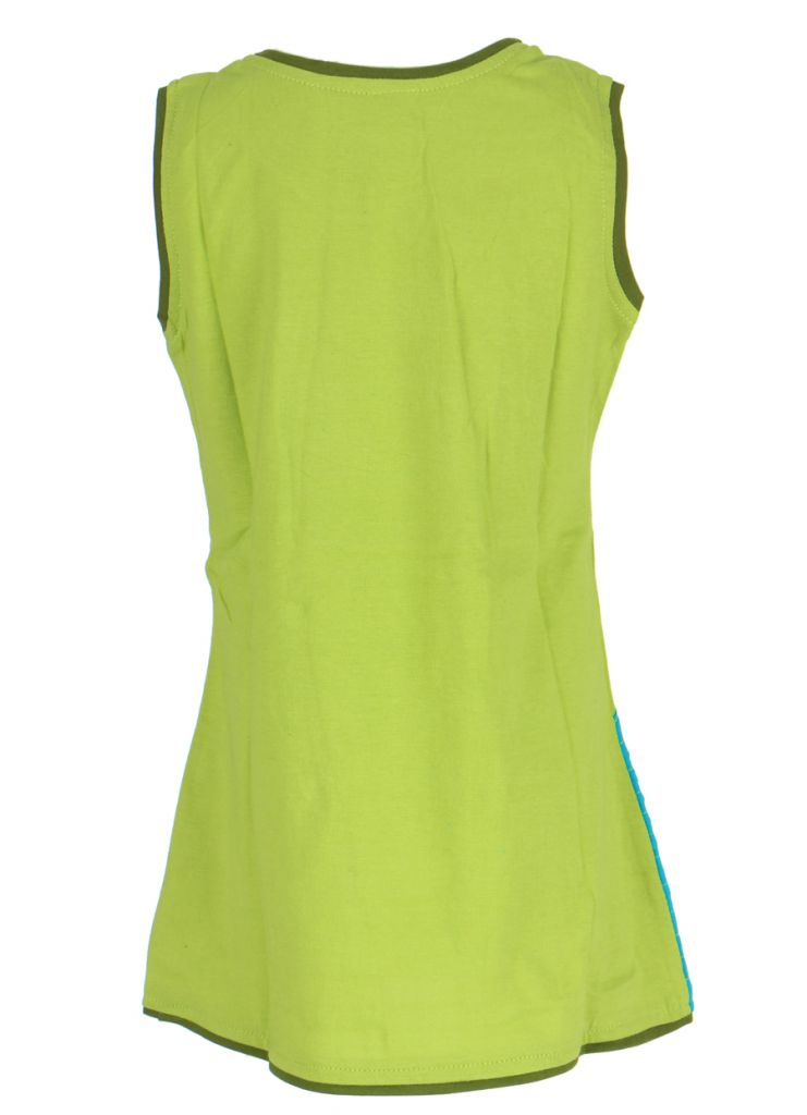 Robe colorée verte pour fille Laura 268619