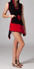 Robe courte à capuche lutin Uma 269009