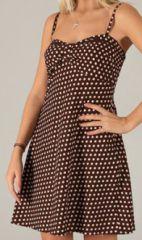 Robe courte d'été à pois Originale et Elegante Castilla 277857