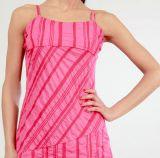Robe courte d'été Asymétrique et Ethnique Ibizza Rose 277036