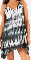 Robe courte d'été Tie&Dye Ethnique et Originale Aliette 276733