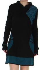 Robe courte d'hiver Ethnique et Originale Galicia Noire 279218