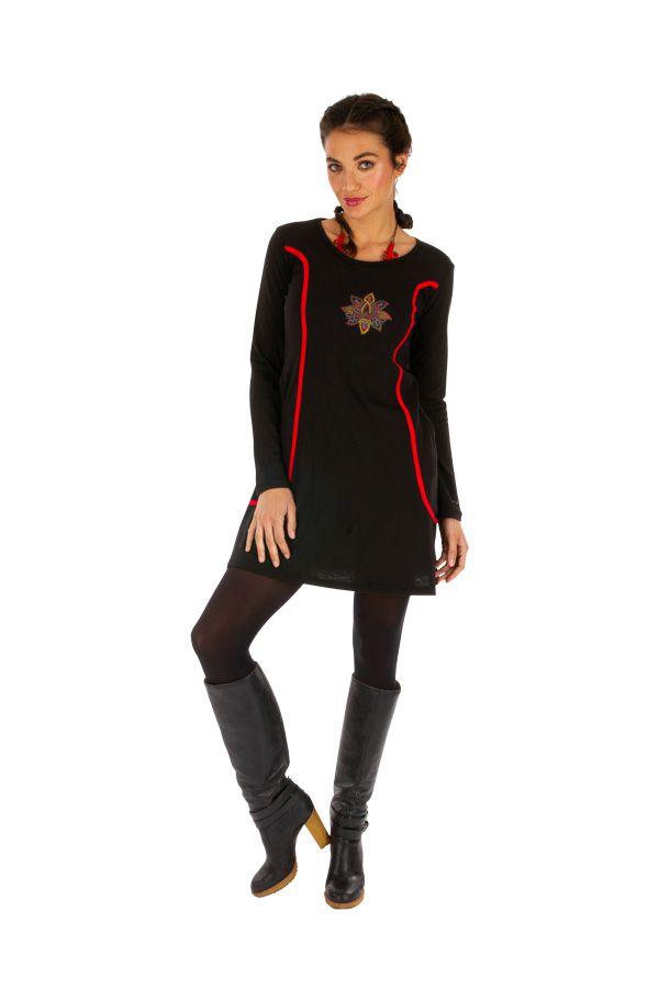 Robe courte d'hiver pour femme originale et stylée Mitzic 312705