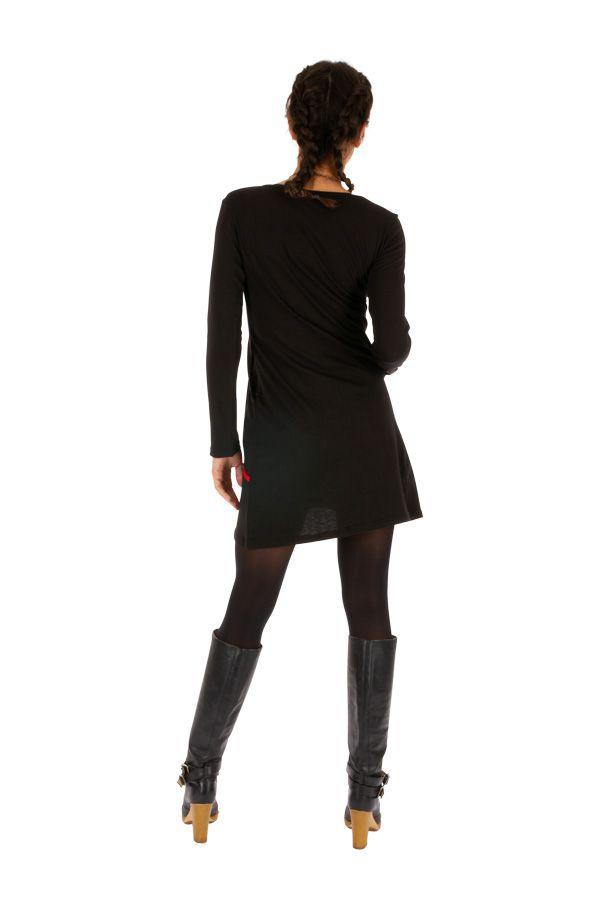 Robe courte d'hiver pour femme originale et stylée Mitzic 312706