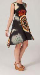 Robe courte ethnique Aurélie 268174