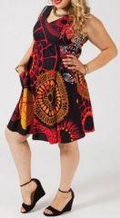 Robe courte grande taille originale pas chère Kamilia