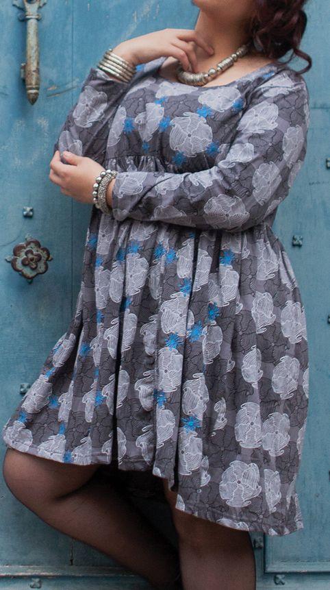 Robe courte originale pour femme pulpeuse et ronde Emilie 274500