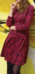 Robe courte style patineuse Imprim�e et Originale Alis�a 274226