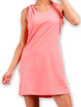 Robe courte très agréable d'été pour la Plage et Colorée Mellinda Corail 277148
