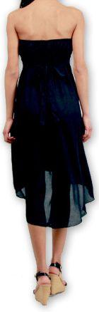 Robe d'été à bustier Elegante Originale et Chic Donna Noire 277017