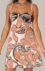 Robe d'�t� � motifs batiks Ethnique et Originale Indina 277866