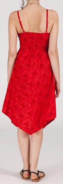 Robe d'été Asymétrique et Originale ASSIA Rouge RM342 273000
