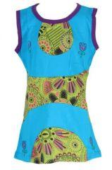 Robe d'été bleue pour petite fille Claudia 268628