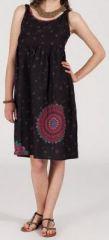 Robe d'été femme mi-longue imprimée ethnique - Lucy 271852
