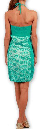 Robe d'été forme boule Ethnique et Originale Glorria Turquoise 277066