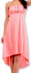 Robe d'été Originale et Chic Elegante à bustier Donna Corail 277018