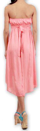 Robe d'été Originale et Chic Elegante à bustier Donna Corail 277021