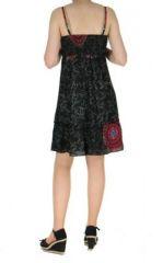 Robe d'été originale thalia noire 260766