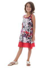 Robe d'été pour enfant à doublure en voile de coton Lara 294550